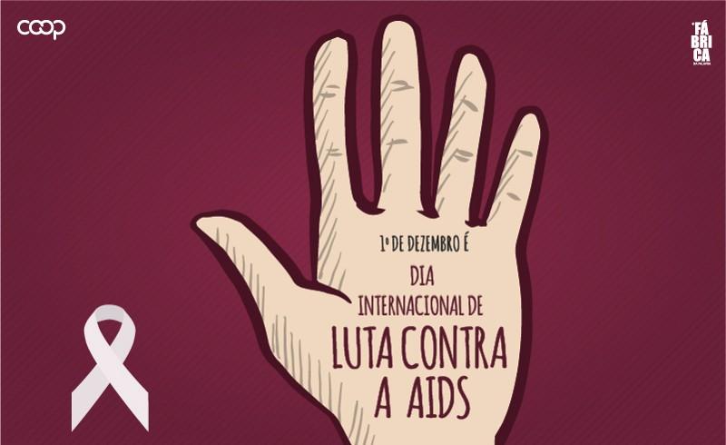 1º de dezembro é o Dia Mundial da Luta contra a Aids