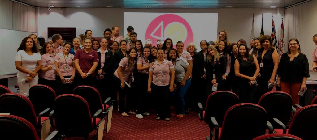 Uniodonto Campinas apresenta campanha de 40 anos aos colaboradores